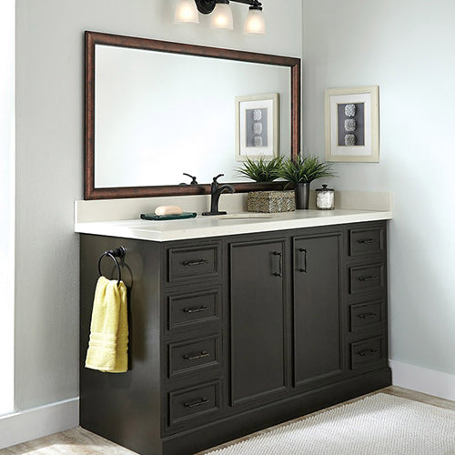 Dark Bronze Bathroom Wall Mirror Frames