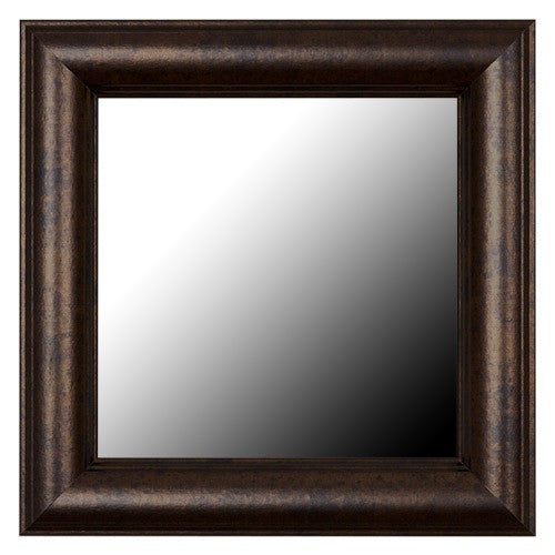Pemaquid Slim Dark Bronze Framed Mirror