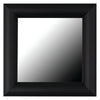 Pemaquid Slim Matte Black Framed Mirror
