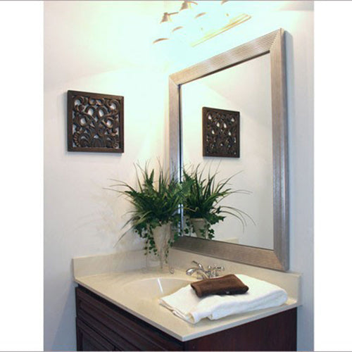 Portage Gray DIY Mirror Framing Kits