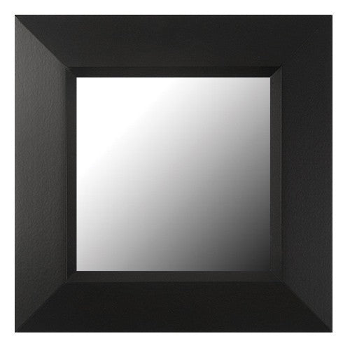 Soho Matte Black Framed Mirror
