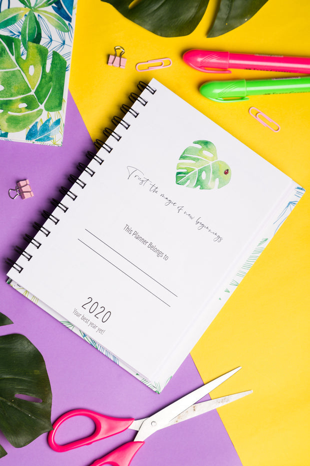 2020 Planner Diary
