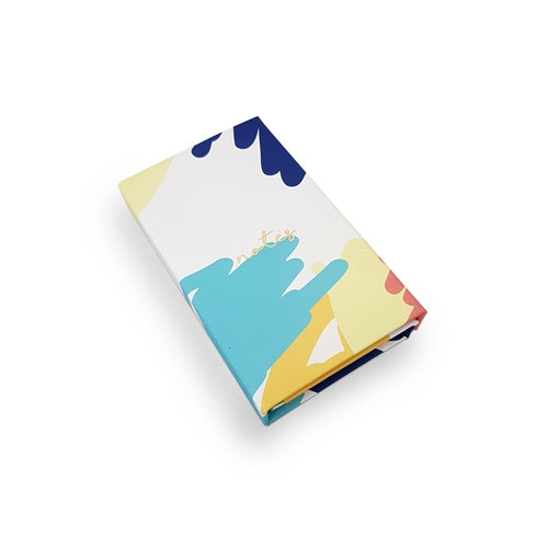 Abstract Print Magnetic Book