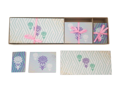Lotus Festive Blue Gift Box Set