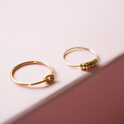 Fifi Neroli Stacking Rings (Set of 2)