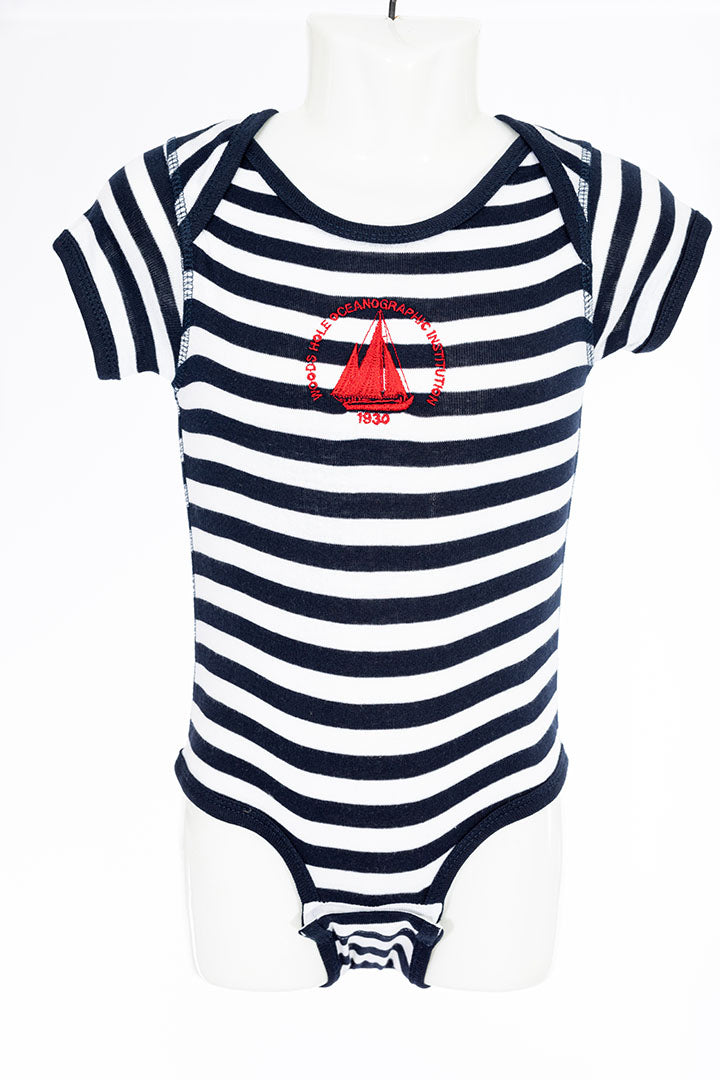 Infant Body Suit with WHOI Logo