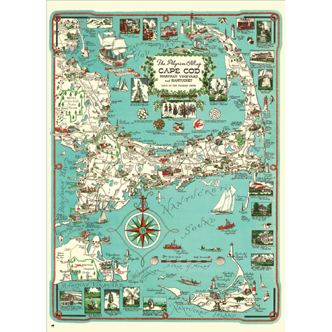 The Pilgrim Map, 1000 piece puzzle