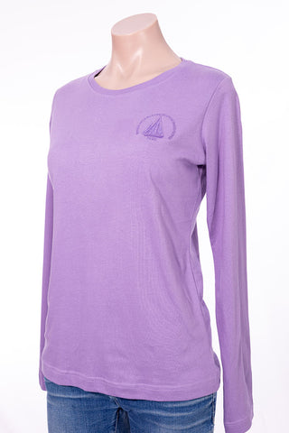 Women's  long sleeve T-Shirt  with WHOI Logo