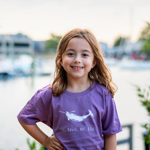 Kid's Narwhal T-Shirt