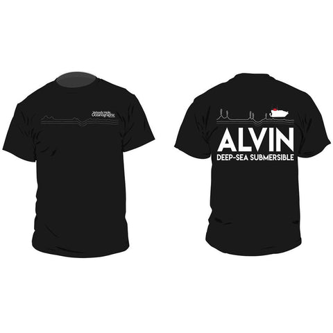 Alvin Line Art T-Shirt- Men's