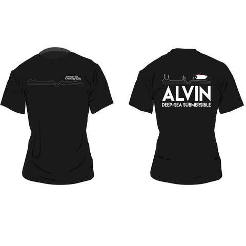 Women's Alvin Line Art T-Shirt