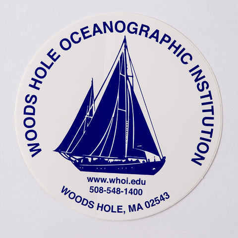 WHOI Decal