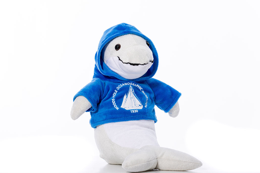 Stuffed Animal with WHOI Logo Hoodie