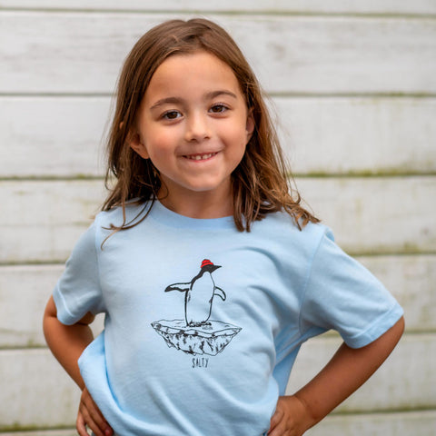 Kid's Salty Penguin T-Shirt