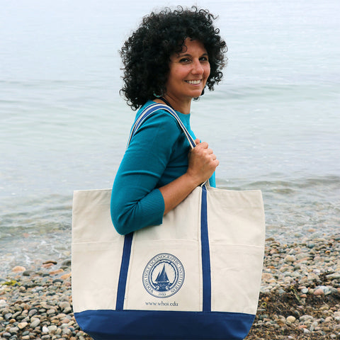 Canvas Bag with WHOI Seal