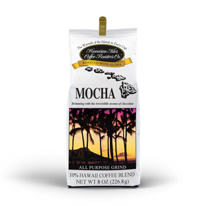 Mocha coffee - Ground - 8 oz - Hawaiian Isles Kona Coffee