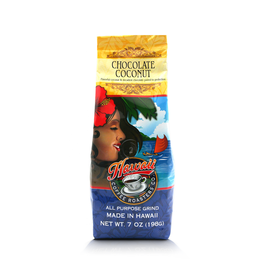 Hawaii Coffee Roasters - Chocolate Coconut - Hawaiian Isles Kona Coffee
