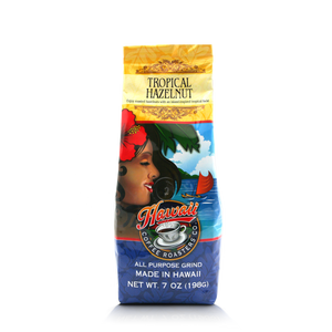 Hawaii Coffee Roasters - Tropical Hazelnut - Hawaiian Isles Kona Coffee