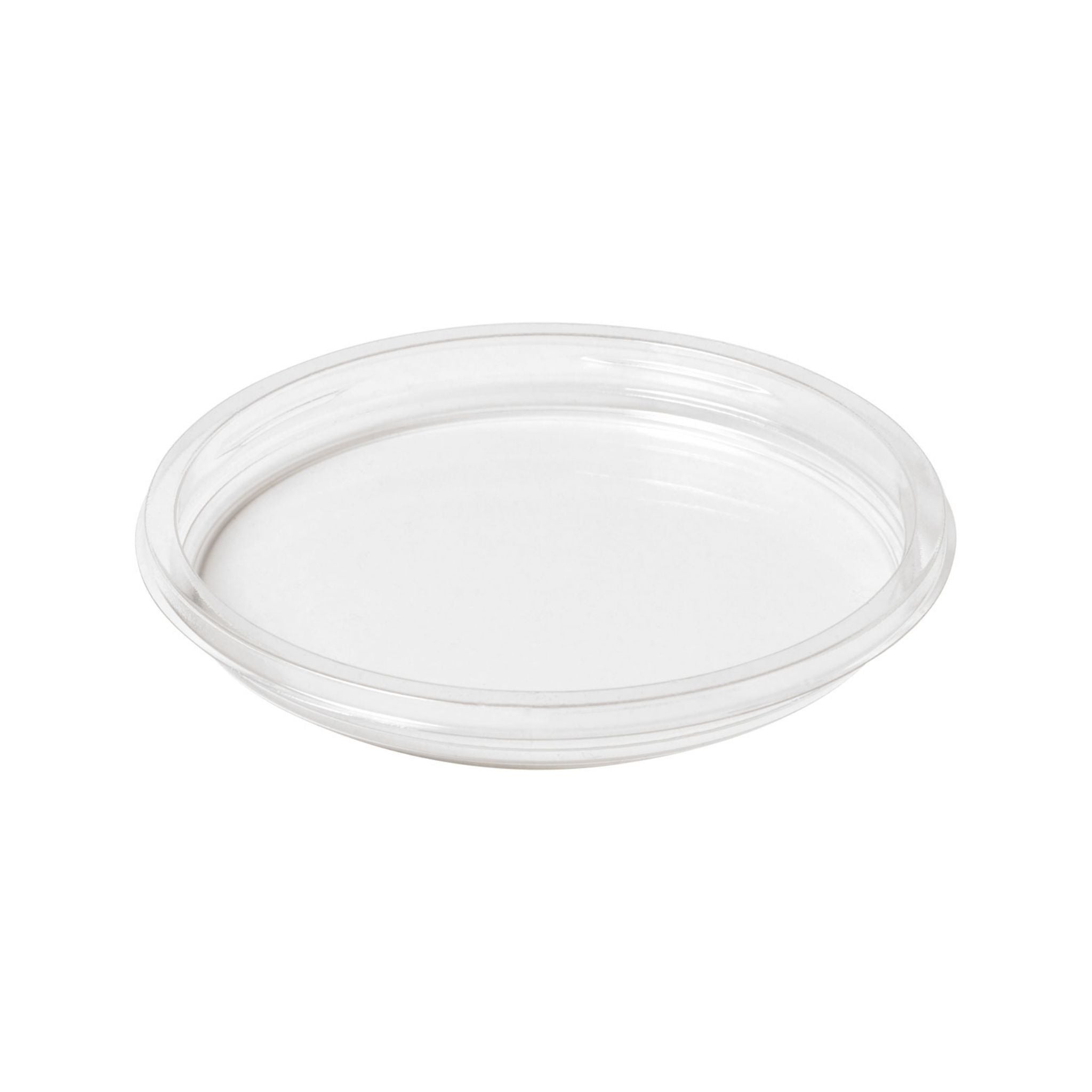 Crystal Deli rasian (250/375ml) kansi rPET,   Ø120mm