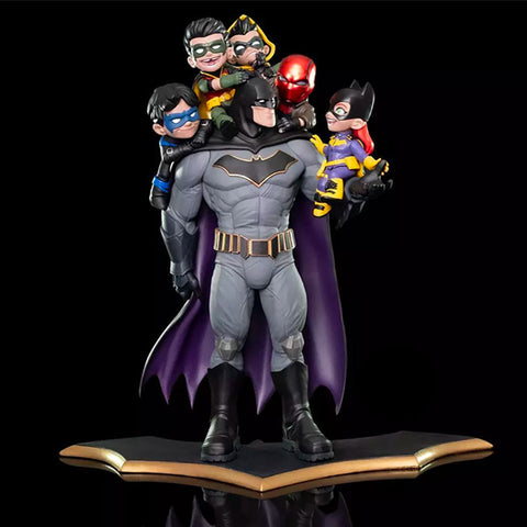 Estatua Batman Family - batman.com.mx