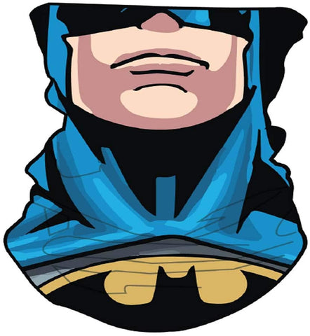 Bandana Batman facial lavable