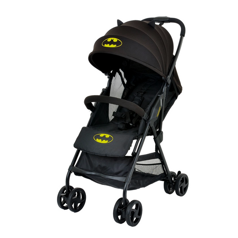 Carriola Batman Negra, ligera compacta y plegable, con Toldo - batman.com.mx