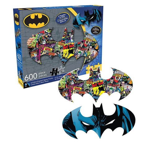 Rompecabezas Reversible Batman (doble cara) - batman.com.mx