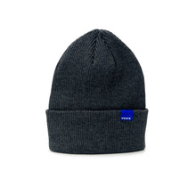 Load image into Gallery viewer, WAVE dark grey rib beanie