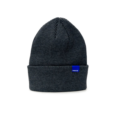 WAVE dark grey rib beanie