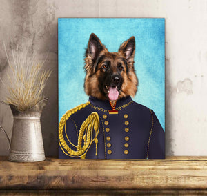 Custom Dog Canvas Pet Portrait