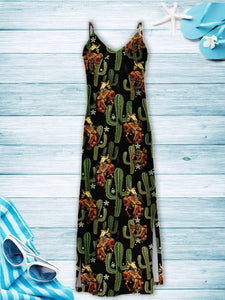 Cowboy Cactus T1407 - Hawaii Dress
