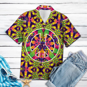 Amazing Hippie Jungle Cats HT13712 - Hawaii Shirt