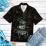 Friends Not Food Vegan G5715 - Hawaii Shirt