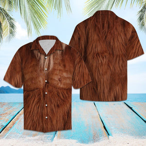 Brown Bigfoot G5715 - Hawaii Shirt