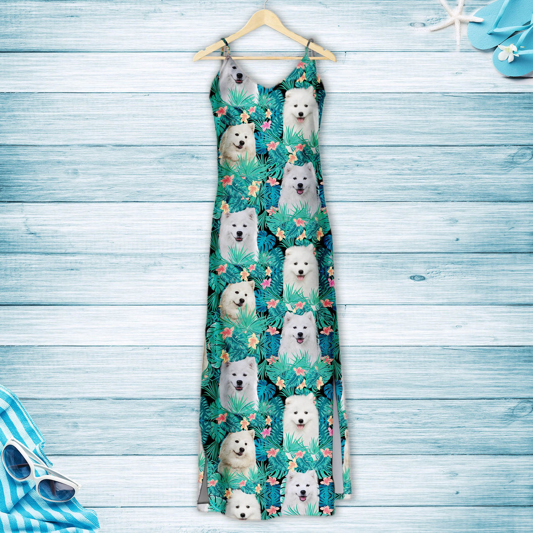 Samoyed Tropical T1507 - Hawaii Dress