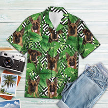 Load image into Gallery viewer, Summer exotic jungle tropical German Shepherd H157012 - Hawaii Shirt
