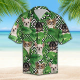 Summer exotic jungle tropical Chihuahua H157020 - Hawaii Shirt
