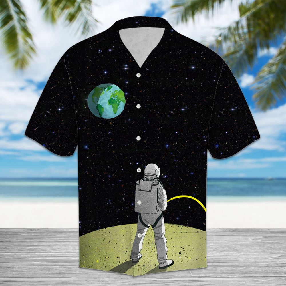 Amazing Astronaut HT14701 - Hawaii Shirt
