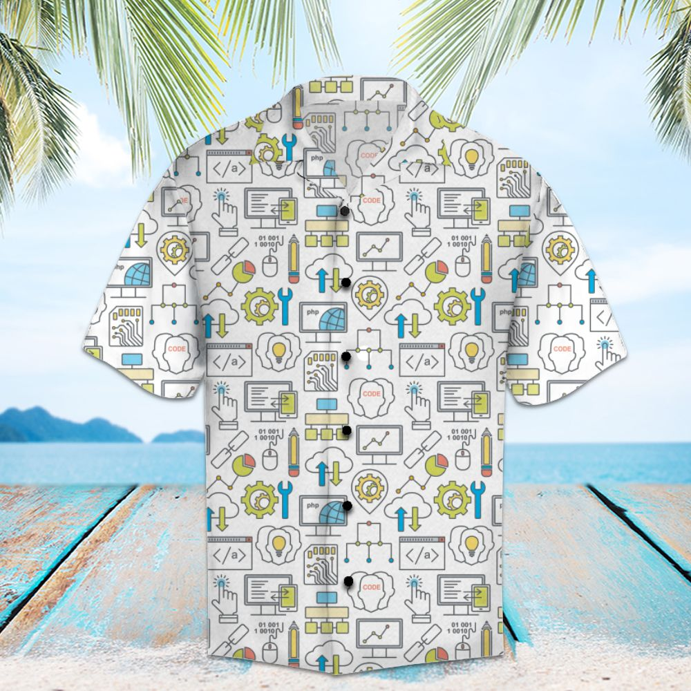 Amazing Computer Program HT14713 - Hawaii Shirt