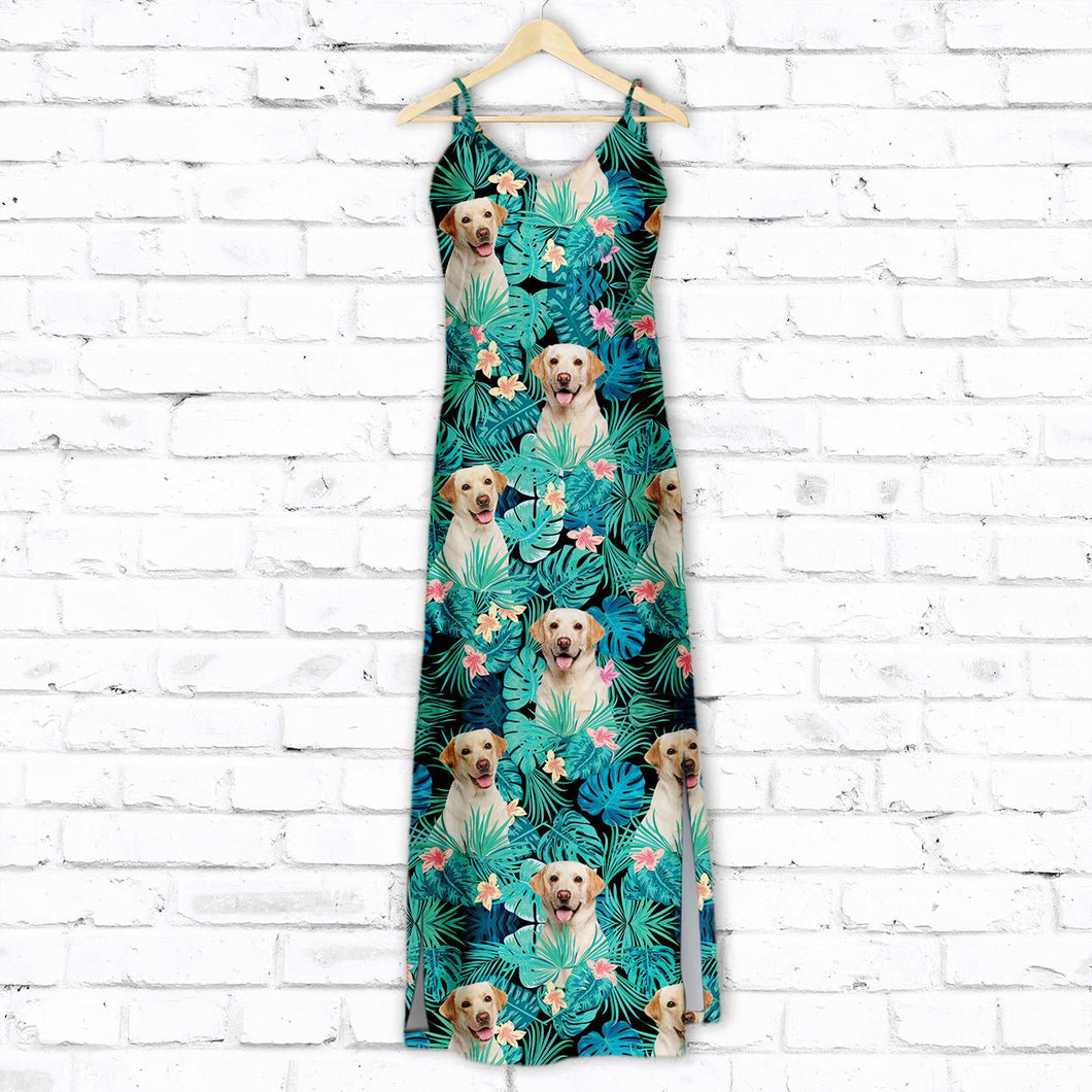 Labrador Retriever Tropical T1507 - Hawaii Dress