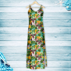 Tropical Pineapple Rat Terrier H157076 - Hawaii Dress
