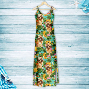 Tropical Pineapple Griffon Bruxellois H157079 - Hawaii Dress