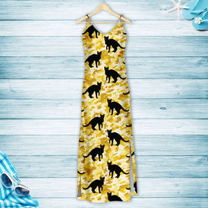 Black Cat Camo H157114 - Hawaii Dress