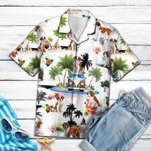 Load image into Gallery viewer, Saint Bernard Vacation G5716 - Hawaii Shirt