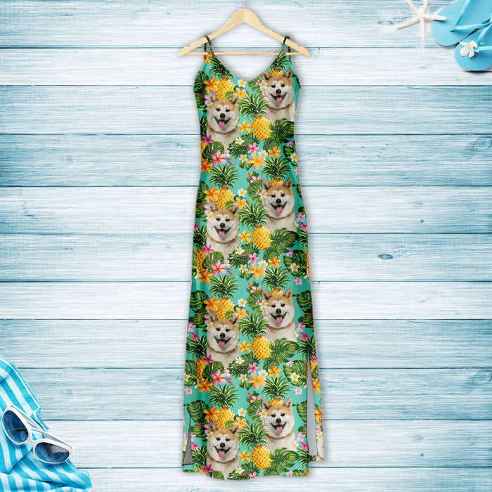 Tropical Pineapple Akita H167002 - Hawaii Dress