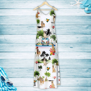 German Shepherd On Vacation G5716 - Hawaii Dress