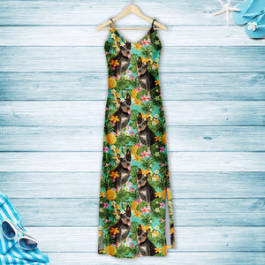 Tropical Pineapple Australian Cattle Dog H167004 - Hawaii Dress