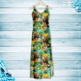 Tropical Pineapple Bloodhound H167007 - Hawaii Dress