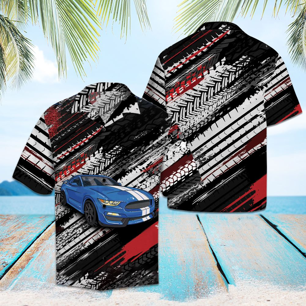Amazing Blue Sports car HT15702 - Hawaii Shirt