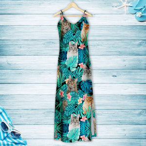 Tropical Maine Coon G5716 - Hawaii Dress